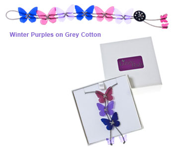 Winter Purple on Grey Conttons